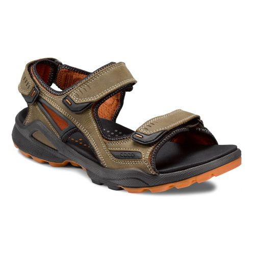 Mens Ecco USA Biom Terrain Sandals Shoe - Navajo Brown/Terracotta 43