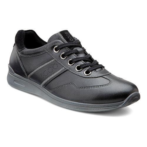 Womens Ecco USA Mobile II Premium Casual Shoe - Black/Black 43