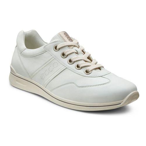 Womens Ecco USA Mobile II Premium Casual Shoe - Shadow White 36
