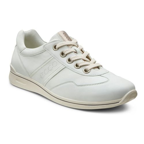 Womens Ecco USA Mobile II Premium Casual Shoe - Shadow White 41