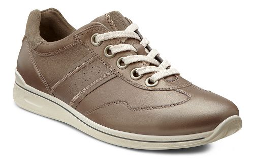 Womens Ecco USA Mobile II Premium Casual Shoe - Warm Grey/Warm Grey 40
