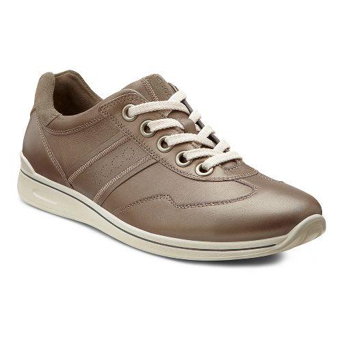 Womens Ecco USA Mobile II Premium Casual Shoe - Warm Grey/Warm Grey 38