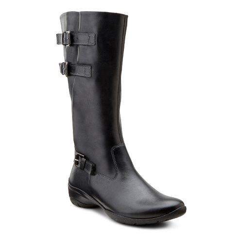 Womens Ecco USA Rise Tall Boot Casual Shoe - Black 39