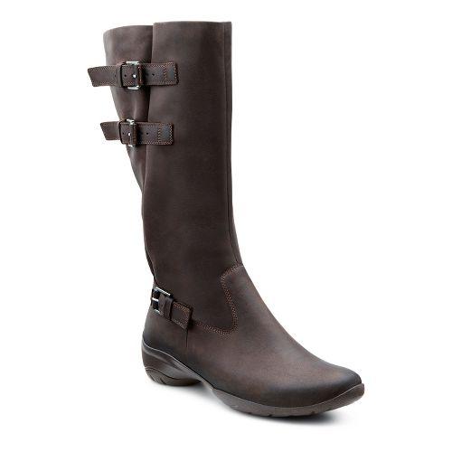 Womens Ecco USA Rise Tall Boot Casual Shoe - Coffee 40