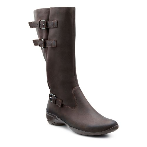 Womens Ecco USA Rise Tall Boot Casual Shoe - Coffee 42