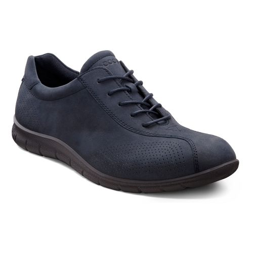 Womens Ecco USA Babett Tie Casual Shoe - Marine 40