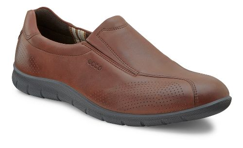 Womens Ecco USA Babett Slip On Casual Shoe - Mahogany 41