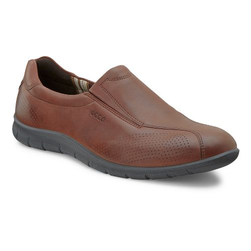 Womens Ecco USA Babett Slip On Casual Shoe - Mahogany 37