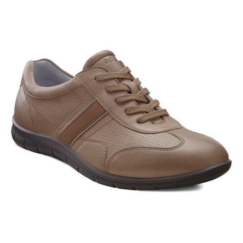 Womens Ecco USA Babett Premium Tie Casual Shoe - Navajo Brown/Birch 37
