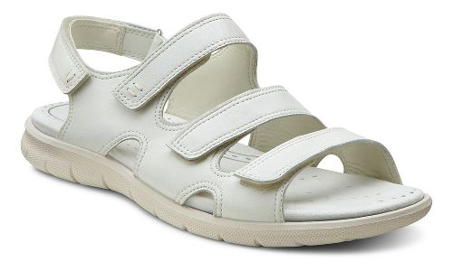 Womens Ecco USA Babett Sandal Sandals Shoe - Shadow White 42
