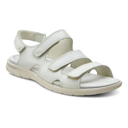 Womens Ecco USA Babett Sandal Sandals Shoe - Shadow White 36