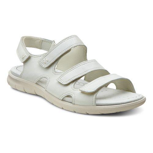 Womens Ecco USA Babett Sandal Sandals Shoe - Shadow White 42