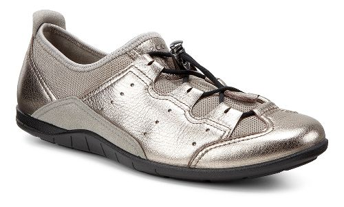 Womens Ecco Bluma Toggle Casual Shoe - Warm Grey/Moon Rock 36