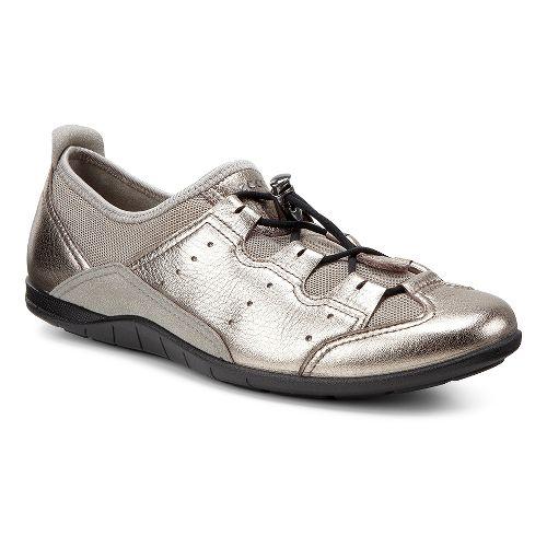 Womens Ecco Bluma Toggle Casual Shoe - Warm Grey/Moon Rock 39