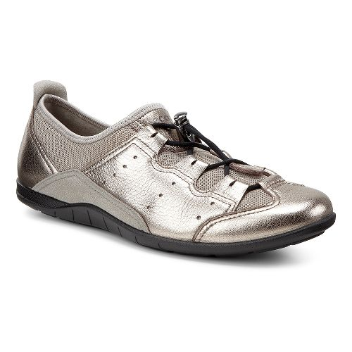 Womens Ecco Bluma Toggle Casual Shoe - Warm Grey/Moon Rock 42