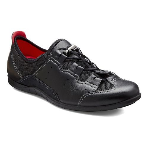 Womens Ecco Bluma Toggle Casual Shoe - Black/Black 38