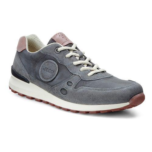 Womens Ecco CS14 Retro Sneaker Casual Shoe - Dark Shadow/Petal 41