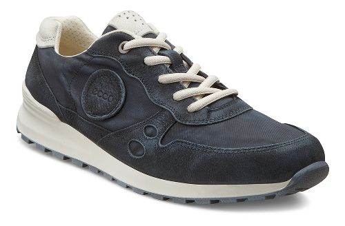 Womens Ecco CS14 Retro Sneaker Casual Shoe - Black/Shadow White 41