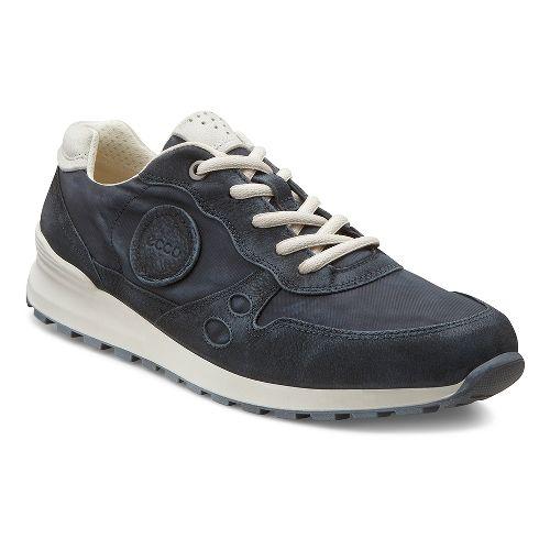Womens Ecco USA CS14 Retro Sneaker Casual Shoe - Black/Shadow White 37