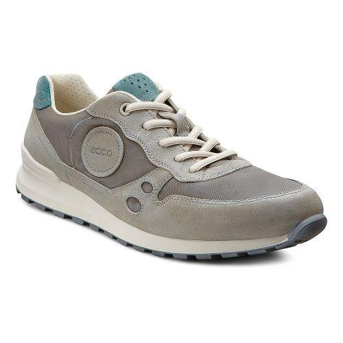 Womens Ecco USA CS14 Retro Sneaker Casual Shoe - Moonrock/Warm Grey 41