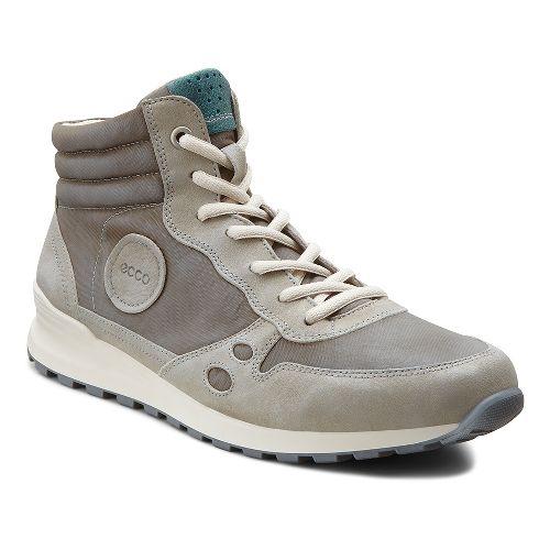 Womens Ecco USA CS14 Retro Boot Casual Shoe - Moonrock/Warm Grey 37
