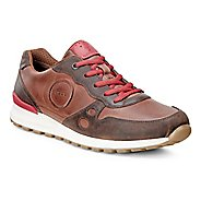 Womens Ecco CS14 Casual Sneaker Casual Shoe - Cocoa/Tomato 41