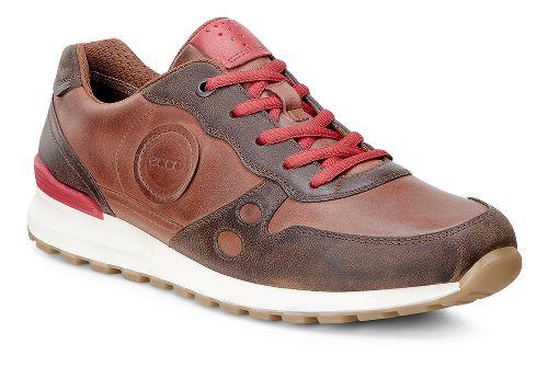 Womens Ecco CS14 Casual Sneaker Casual Shoe - Cocoa/Tomato 38