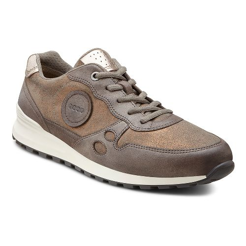 Womens Ecco USA CS14 Casual Sneaker Casual Shoe - Licorice/Warm Grey 40