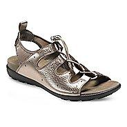 Womens Ecco Jab Toggle Sandals Shoe - Warm Grey Metallic 42