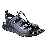 Womens Ecco Jab Toggle Sandals Shoe - Marine 41