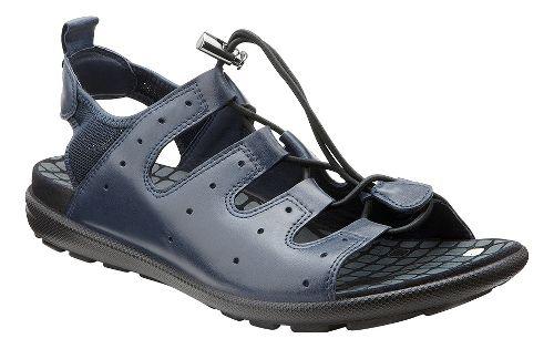 Womens Ecco Jab Toggle Sandals Shoe - Marine 39