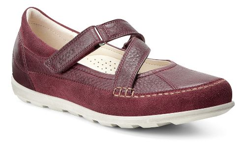 Womens Ecco Cayla Mary Jane Casual Shoe - Port 38