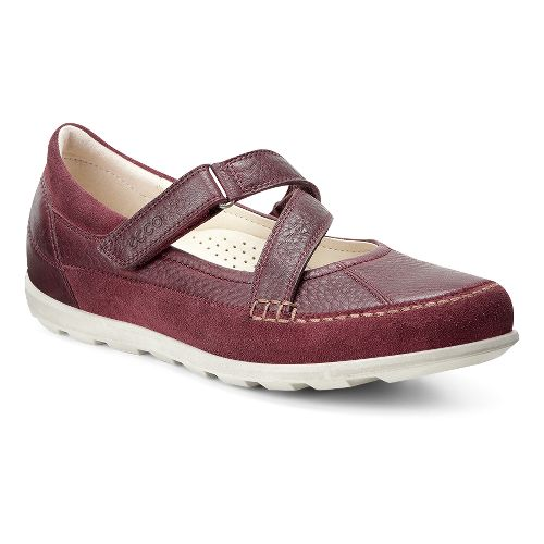 Womens Ecco Cayla Mary Jane Casual Shoe - Port 35
