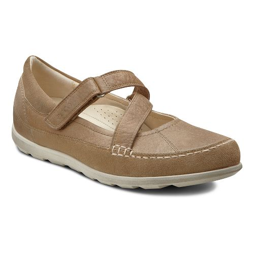 Womens Ecco USA Cayla Mary Jane Casual Shoe - Navajo Brown/Navajo Brown 35