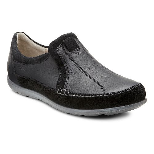 Womens Ecco USA Cayla Slip On Casual Shoe - Black/Black 36