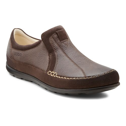 Womens Ecco USA Cayla Slip On Casual Shoe - Mocha/Coffee 42