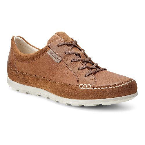 Womens Ecco Cayla Tie Casual Shoe - Amber 39