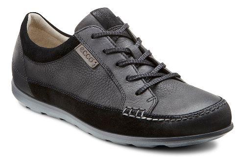 Womens Ecco Cayla Tie Casual Shoe - Black/Black 40