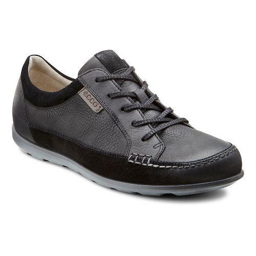 Womens Ecco Cayla Tie Casual Shoe - Black/Black 41