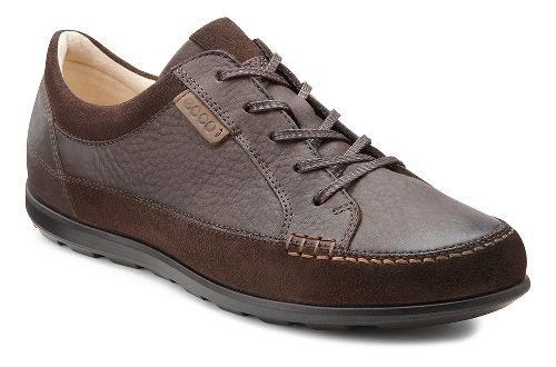 Womens Ecco Cayla Tie Casual Shoe - Mocha/Coffee 41