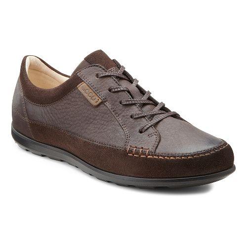 Womens Ecco USA Cayla Tie Casual Shoe - Mocha/Coffee 38