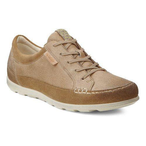 Womens Ecco USA Cayla Tie Casual Shoe - Navajo Brown/Navajo Brown 36