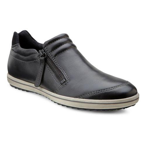 Womens Ecco USA Alona Zip Casual Shoe - Black/Black 37