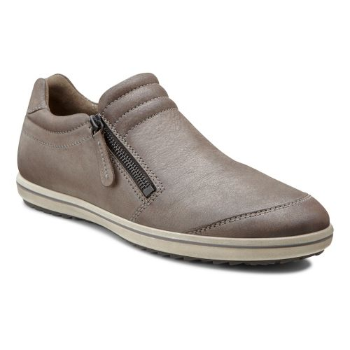 Womens Ecco USA Alona Zip Casual Shoe - Licorice/Warm Grey 37