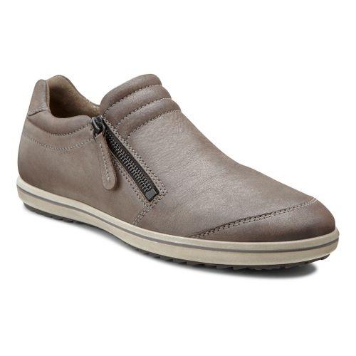 Womens Ecco USA Alona Zip Casual Shoe - Licorice/Warm Grey 41