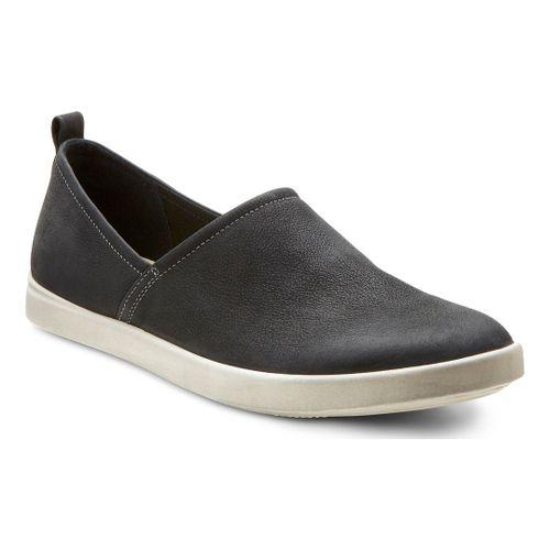 Womens Ecco USA Aimee Slip On Casual Shoe - Black 39