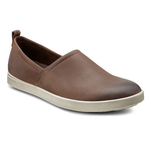 Womens Ecco USA Aimee Slip On Casual Shoe - Coffee 41