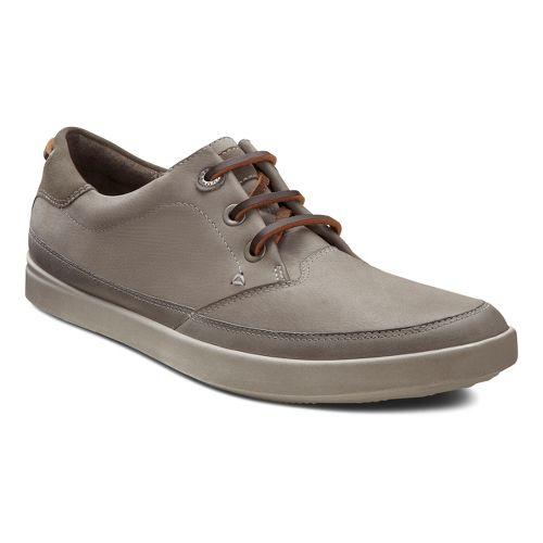 Womens Ecco USA Aimee Nautical Sneaker Casual Shoe - Steel/Warm Grey 40