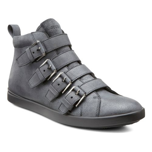 Womens Ecco USA Aimee Buckle Boot Casual Shoe - Black/Black 38