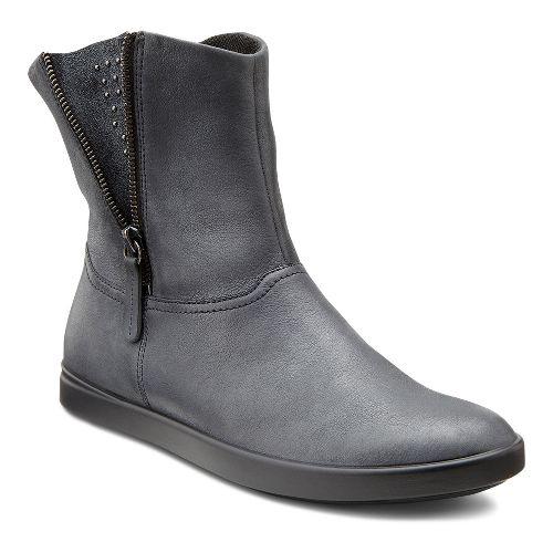 Womens Ecco USA Aimee Pull On Boot Casual Shoe - Black/Black 43